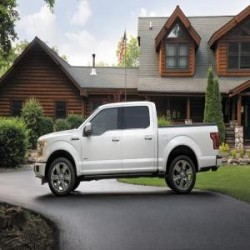 Venta camioneta ford f-150 platinium 4wd ecoboost año 2015...