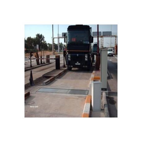 Bascula de camiones por eje Dinámica