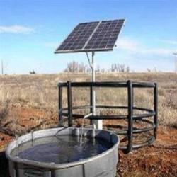 Bomba solar fotovoltaica de pozo profundo o superficie agu...