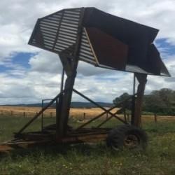 Tolva autodescargable uso agrícola...