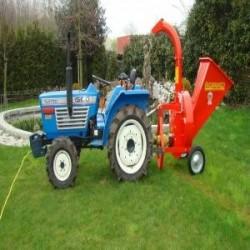 Chipeadora de tractor italiana bio 190t caravaggi...