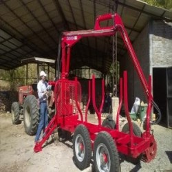 Grúas de madereo para camiones, tractores o carros...