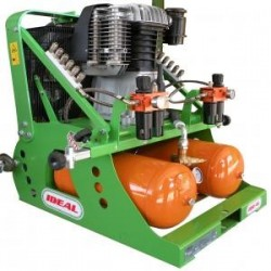 Compresor neumático para podar y cosechar  frutales y viña...