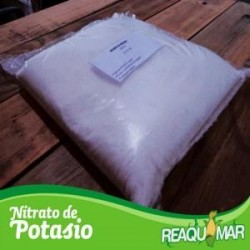 Nitrato de potasio...