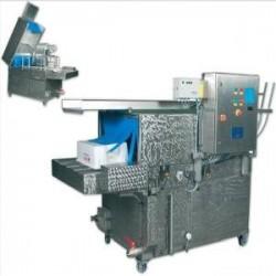 Lavadora de cajas fruteras semi-staal compact200...