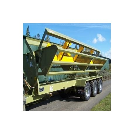 Carro porta bins para papas y zanahorias  LARRINGTON-WING LIFT BOX LOADER