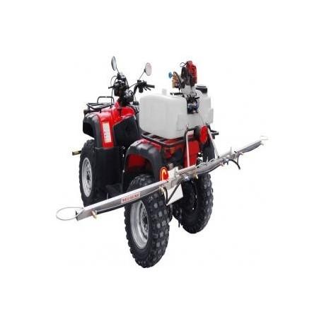 Aplicaciones de herbicida moto atv