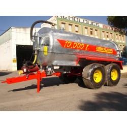 Purinera galvanizada de 10.000 litros tandem....
