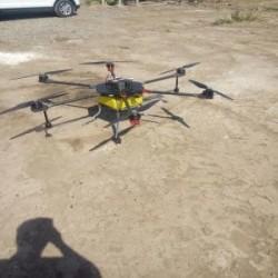 Drone fumigador...