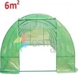 Invernadero armable tunel 6 metros cuadrados profesional...