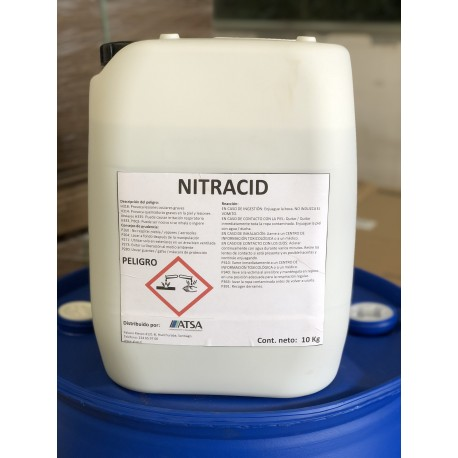 NITRACID - ACIDIFICANTE DE SUELOS Y DE AGUAS + NITRÓGENO ESTABILIZADO
