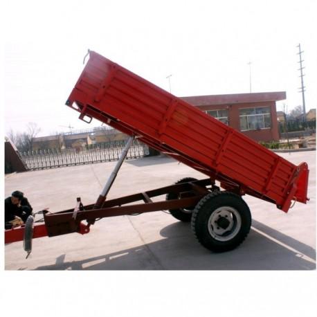Carro arrastre 2 ruedas volteador 2T para tractor agricola remolque coloso de volteo  700-16