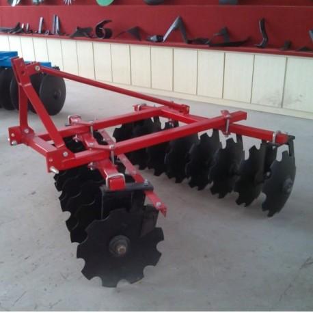 Rastra mediana 1.8m 16x22 pulgada discos ref 1200 con rodamiento para tractor agricola