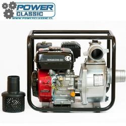 Motobomba gasolina 6.5 hp 3 pulgada 80-30 riego bencinera ...