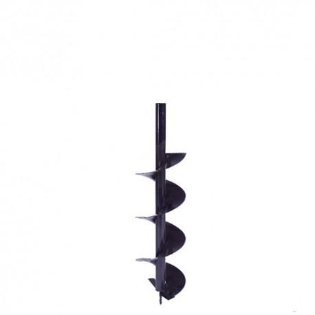 Broca ahoyador 10cmx80cm 20mm ref 20 barreno perforadora de tierra