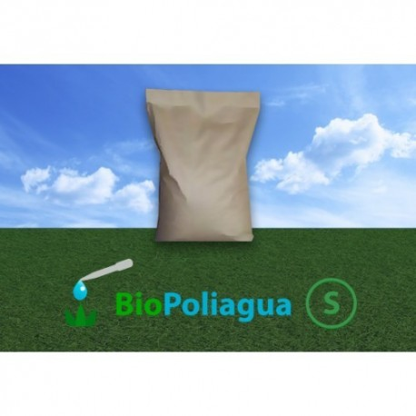 Bio-Poliagua Insoluble Polímero Retenedor de Agua