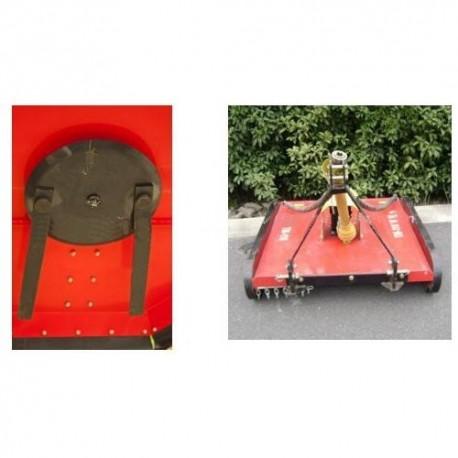 Rana desbrozadora para tractor agricola 1.2m PTO ref 790 desmalezadora cortadora de pasto