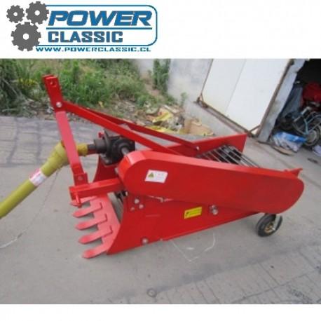 osechadora de papas 1 hilera 60cm PTO (L)  para tractor agricola arrancadora sacador