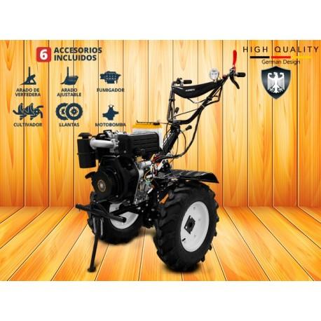 Motocultivador Diesel Kit 6en1