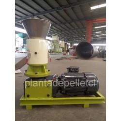 Peletizadora electrica de 7.5kw 3880vac de 150kg/h. para f...