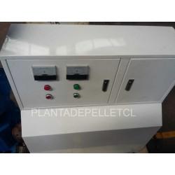 Maquina para fabricar pellets de biomasa...