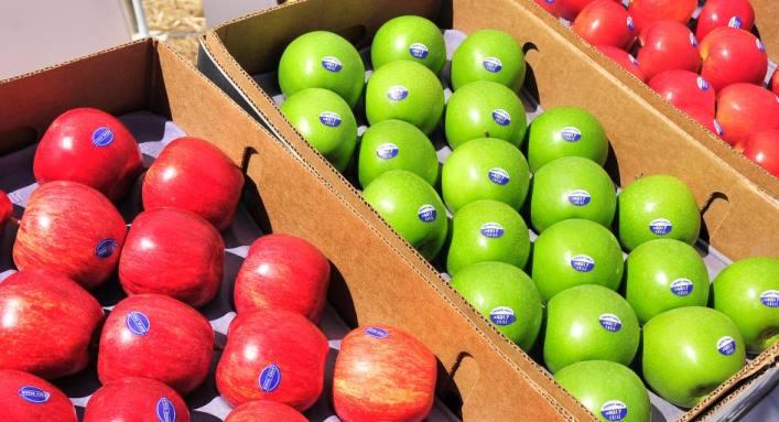 Los vendedores estadounidenses de manzanas esperan que el bloqueo chino acabe