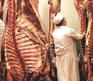 Envíos de carne de vacuno caen 20% e importaciones suben casi lo mismo