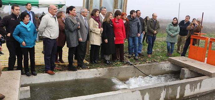Ministerios de Energía y Agricultura inauguran primeras obras de riego que incorporan microcentrales hidroeléctricas