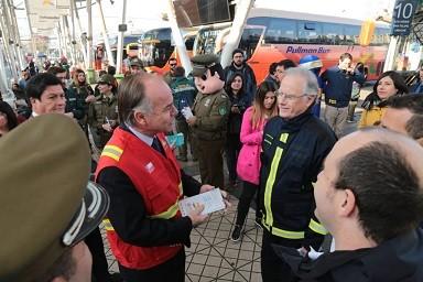 """Ministro Walker entregó recomendaciones para prevenir incendios forestales este '18: """"El mejor incendio es el que no se produce"""