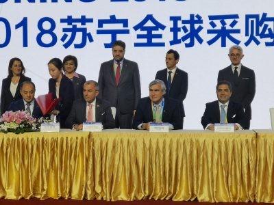 ProChile firmó acuerdo de cooperación con Suning,  la segunda mayor cadena de supermercados de China